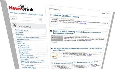 Newsdrink: agrégateur rss avec newsletter | Time to Learn | Scoop.it