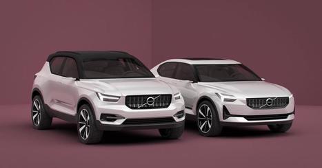 Volvo annonce ses futures compactes avec les concepts 40.1 et 40.2   Volvo Concept   Scoop.it