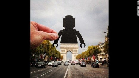 Artist transforms travel photos with paper cutouts | Regional Geography | Scoop.it