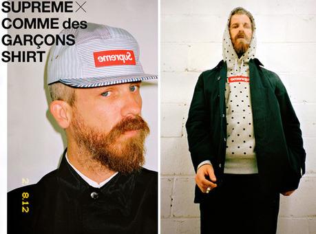 Supreme x COMME des GARCONS SHIRT Capsule Collection | COMME des | Scoop.it