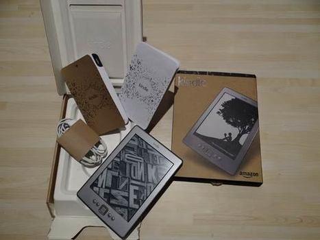 Prise en mains du Kindle 4 et premières impressions | ACTU DES EBOOKS | Scoop.it
