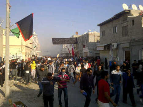 Abu Saiba, Bahrain:  Protest is attacked by the regime   Human Rights and the Will to be free   Scoop.it