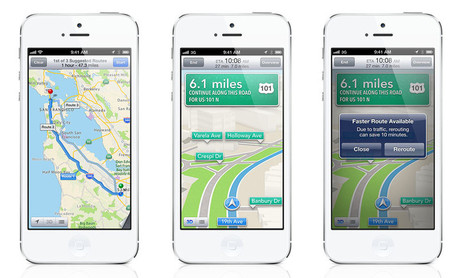 iOS 6 maps explored - Pocket-lint- FIASKO? | Teknologifronten i min digitala värld | Scoop.it