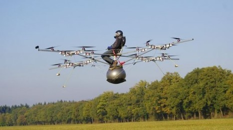 First-ever manned flight of an electric multicopter takes place in Germany | Cool Future Technologies | Scoop.it