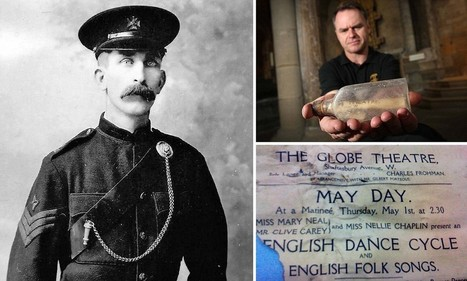 Identity of man who buried mysterious message in a bottle revealed | British Genealogy | Scoop.it