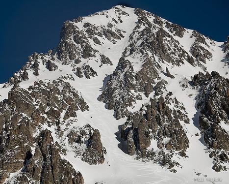 Ski de rando sur le pic de Bastan, couloir ouest le 31 janvier 2014 | Fidel Mendia | Vallée d'Aure - Pyrénées | Scoop.it