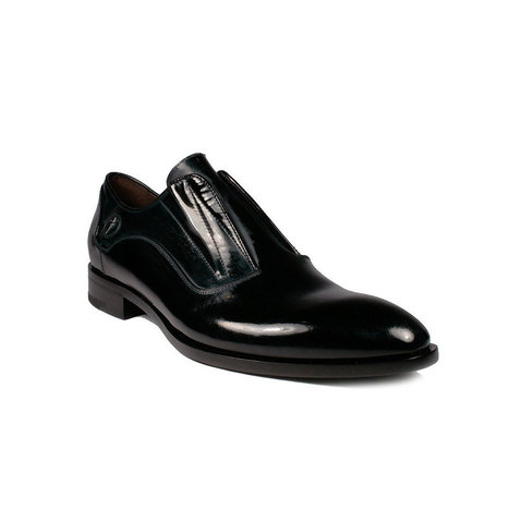 Cesare Paciotti Mens Shoes Distressed Patent Leather Loafers | Designer Mens Shoes | Scoop.it