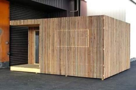 Un studio prêt à louer sous forme de cube à poser dans son jardin - Les Échos | Actualités immobilières en France | Scoop.it