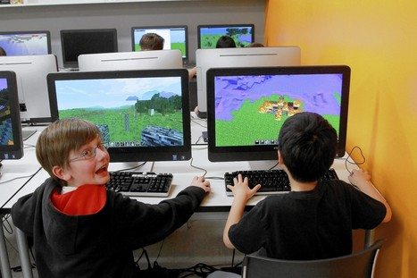 Minecraft finds a home in schools | Virtual-worlds in education | Scoop.it