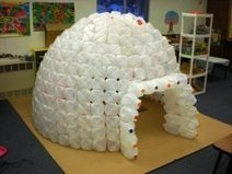 How to Build a Milk Jug Igloo | Kids Going Green!! | Scoop.it