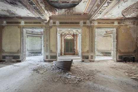 Mirna Pavlovic Documents The Decline of Grand European Villas | PhotoHab | Scoop.it