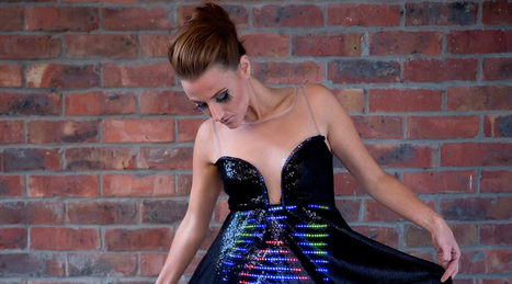 A Wi-Fi Enabled Dress that Changes Itself in Different Locations | Entrepreneurship, Innovation | Scoop.it