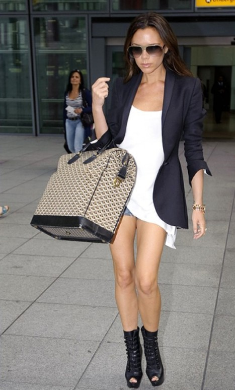 Victoria Beckham wears Christian Louboutin Pumps to go out | sexy Christian Louboutin shoes | Scoop.it