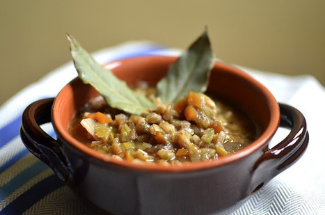 Spring Soup from Le Marche: Farro & Leek | Le Marche and Food | Scoop.it