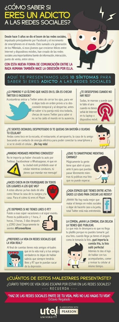 ¿Adictos a las Redes Sociales? #INFOGRAFÍA | Marketing Digital - Social Media | Scoop.it
