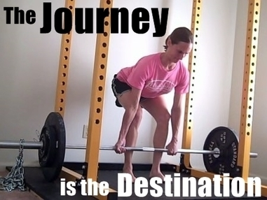 When It Comes to Building the Body You Want, the Journey is the Destination - Nia Shanks | Programs not pills | Scoop.it