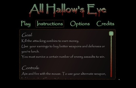 All Hallows Eve | Free Games that Pay You | Scoop.it