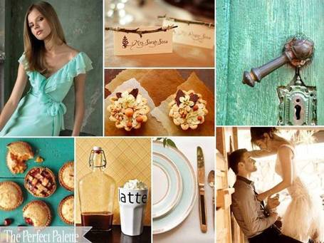 The Perfect Palette is a wedding resource dedicated to helping brides find