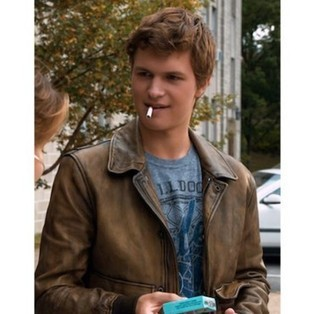 Fault in our stars Ansel Elgort Jacket | Celebrity Movie And Gaming Jackets | Scoop.it