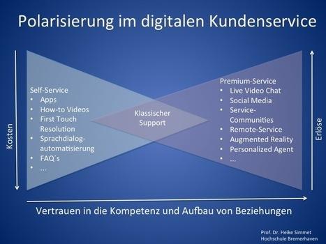 Polarisierung im digitalen Kundenservice: Self-Service oder Premium-Service | Kundenservice Updated | Scoop.it