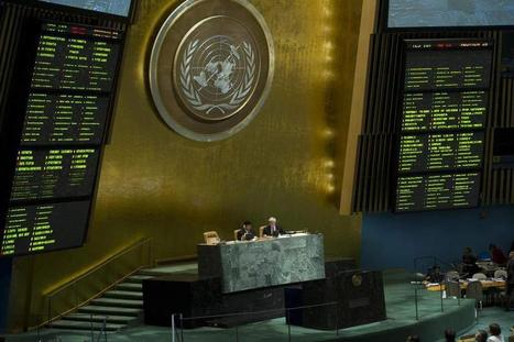 'Outraged' by rising death toll in Syria, General Assembly demands halt to all violence | What's going on in the United Nations | Scoop.it