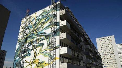 Paris : l'histoire d'amour entre le street art et le XIIIe arrondissement @EmmanuelBorde   Richard and Street Art   Scoop.it