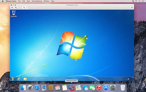 ↪ VMware Fusion também ganha nova versão compatível com o OS X Yosemite | Apple Mac OS News | Scoop.it