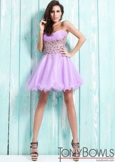 Tony Bowls TS21323 Lilac Short Beaded Party Dress [Tony Bowls TS21323] - $168.00 : 2013 Prom Homecoming Dresses On Sale, Save 70% Off! | homecoming dresses 2013 | Scoop.it