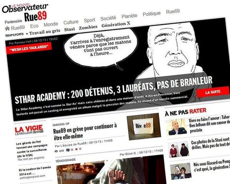 Rue89 se met en grève | whynotblogue | Scoop.it