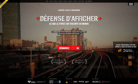 Défense d'afficher - Web-Documentaire.org | Photographie, reportages et WebDocumentaires | Scoop.it
