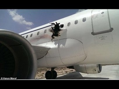 Terrifying Moment Explosion Rips Hole In Side Of Plane | Total Knowledge | Scoop.it