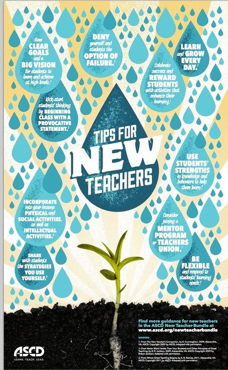 Awesome Classroom Visual Featuring 10 Tips for New Teachers ~ Educational Technology and Mobile Learning | Cool School Ideas | Scoop.it