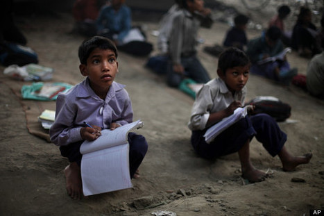 LOOK: Stunning Photos Of A Free School Under A Bridge In India   Switch Magazine   Scoop.it