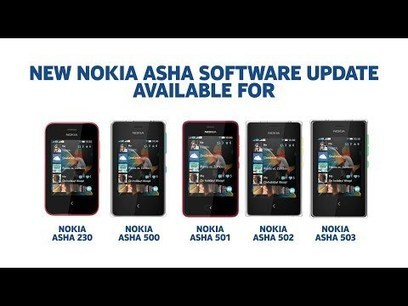 Hands on with the new software update for the Nokia Asha 500, 501, 502, 503 and 230 smartphones | supreme moments | Scoop.it
