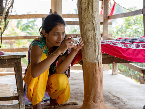 Nepalese girls are taking photos of all the things they're not allowed to touch during their periods   Sustainability & Collective Intelligence   Scoop.it