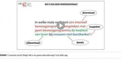 Onderzoeksartikelen lezen   Nederlands Tijdschrift voor Geneeskunde   Creatieve Therapie   Zuyd Bibliotheek   Scoop.it