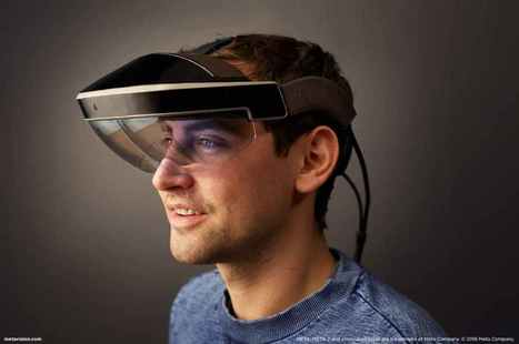 Meta 2 AR Glasses – A Preview of our Future? | Learning Technology News | Scoop.it