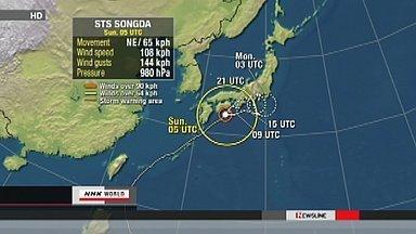 [Eng] La tempête se déplace vers le nord | NHK WORLD English (+vidéo) | Japon : séisme, tsunami & conséquences | Scoop.it