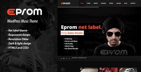EPROM – WordPress Music Theme v1.2.3 | www.elytemusic.com | Scoop.it