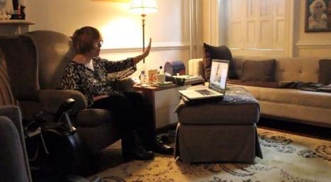 Kinect utilisé pour aider une personne à envoyer des emails suite à ... | le monde de la e-santé | Scoop.it