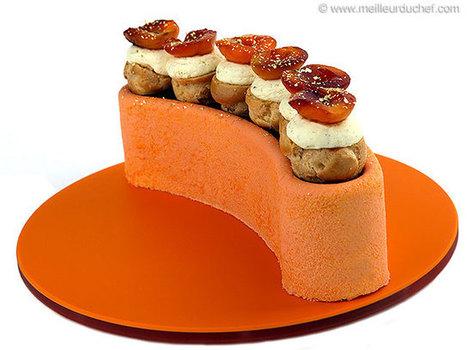 Demi-lune pêche abricot   Recettes de cuisine de Meilleur du Chef   Scoop.it