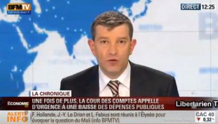 Il faut diminuer les dépenses publiques, et plus vite que ça !  Nicolas Doze (BFMTV) | Dépenser Moins | Scoop.it