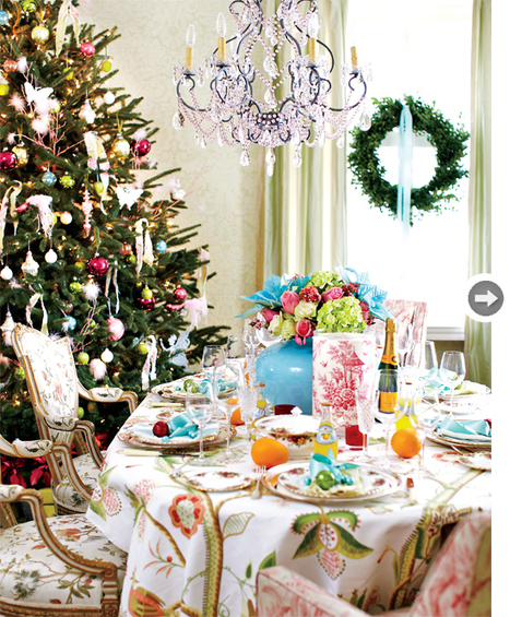 Cheerful Christmas decorating ideas - Style At Home | Christmas | Scoop.it