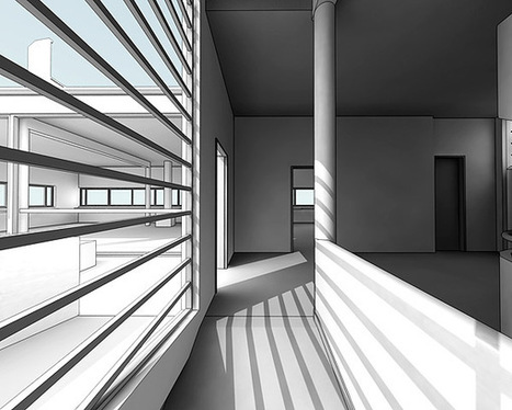 designcoding | Use of Analytical Visuals: Revisiting Villa Savoye | ARCHIresource | Scoop.it