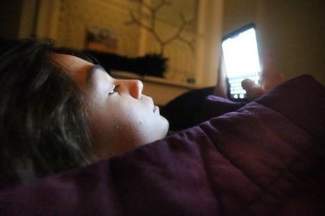 Pubers bezorgen zichzelf en elkaar slaapproblemen door smartphones | Mediawijsheid en ouders | Scoop.it