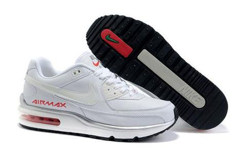 Mens Nike Air Max LTD 2 White Black Red Green Running Shoe | popular list | Scoop.it