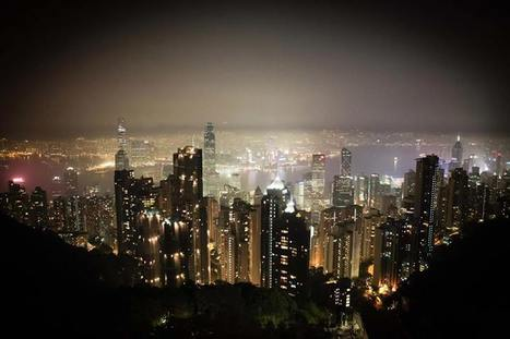 The incredible late night view from The Peak in Hong Kong. | CasaVersa ~ Never feel like a tourist again | Scoop.it