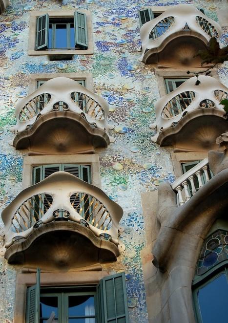 Casa Batllo Barcelona, Spain | Disfrutando del Arte | Scoop.it