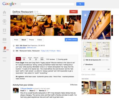 Désormais avec une goutte de Zagat et une pincée de Google+ | Toulouse networks | Scoop.it