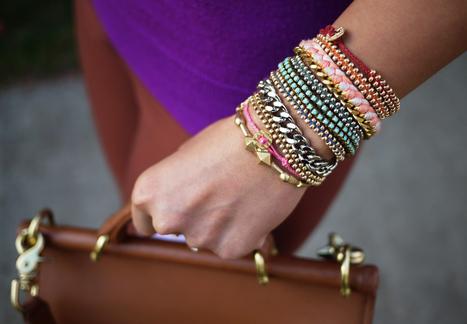 DIY Braided Bead Bracelet | DIY - jewellery  =  HTM - bijou | Scoop.it